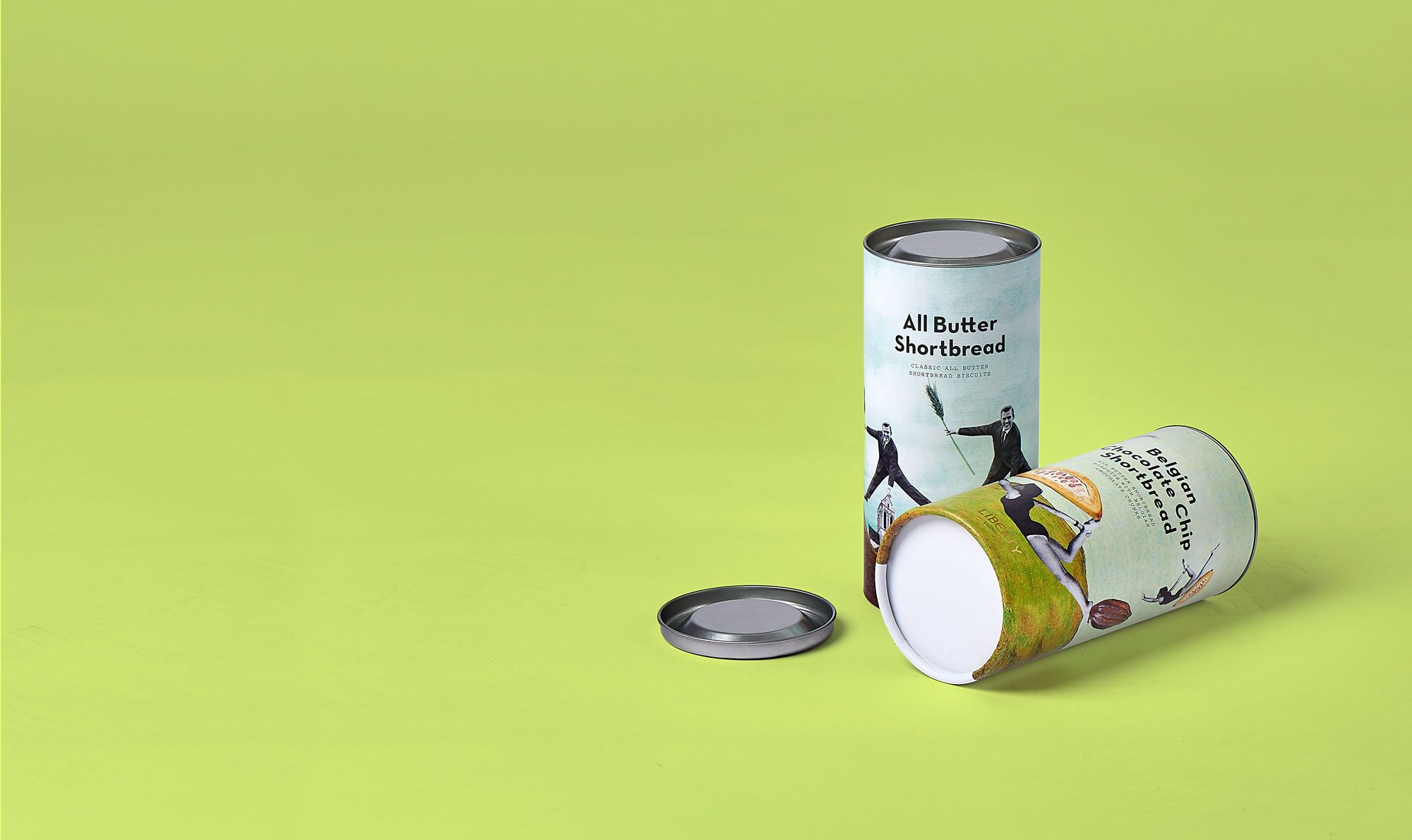 biscuit packaging tubes